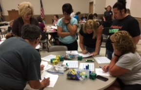 Preschool-teachers-participated-in-Early-Math-training-provide-by-SESC-Math-Consultants