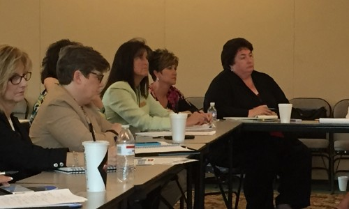 SESC Instructional Supervisors attend cadre meetings throughout the school year. The group hears presentations on current educational issues from state and regional leaders at each meeting.