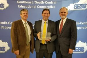 SESC recognized retiring Berea Superintendent Mike Hogg at its meeting on December 14, 2017