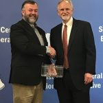 SESC recognized retiring Middlesboro Superintendent Steve Martin at its meeting on December 14, 2017.