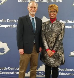 The SESC Board of Directors welcomed Dr. Diane Hatchett, new superintendent of Berea Independent School District, to its membership at its meeting on January 11, 2018. Dr. Hatchett assumed her new position as superintendent on January 1.
